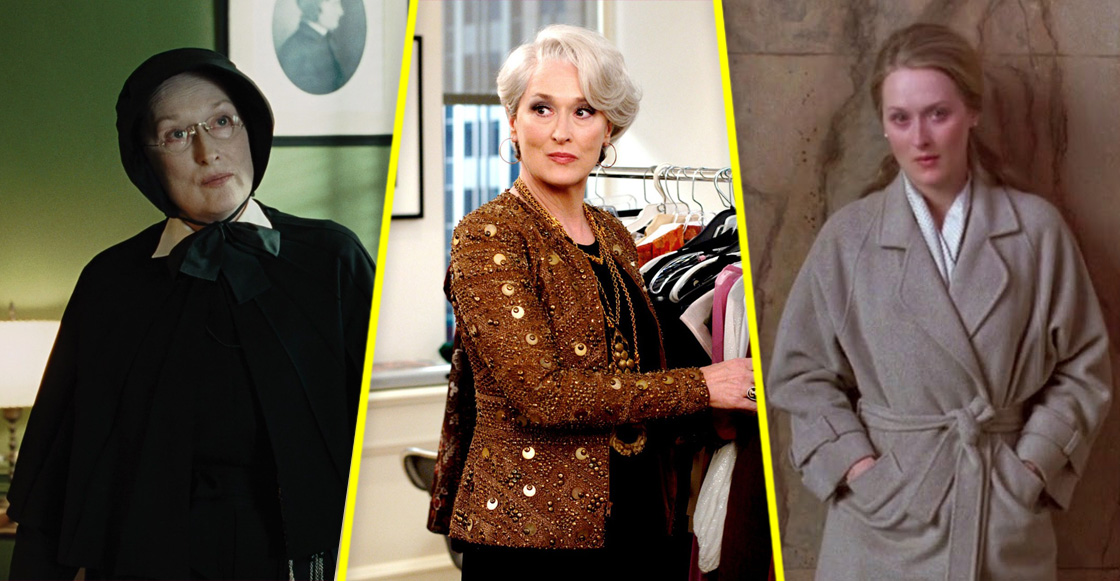 8 actuaciones de Meryl Streep que SÍ merecían su nominación al Oscar