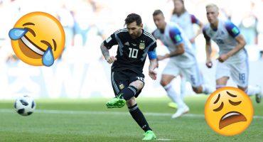 13 fotos del momento exacto cuando Messi falló el penal que te harán llorar (o reír)