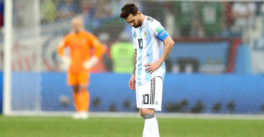 Messi desapareció ante Croacia
