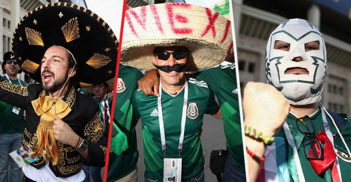 Fans de México en Rusia