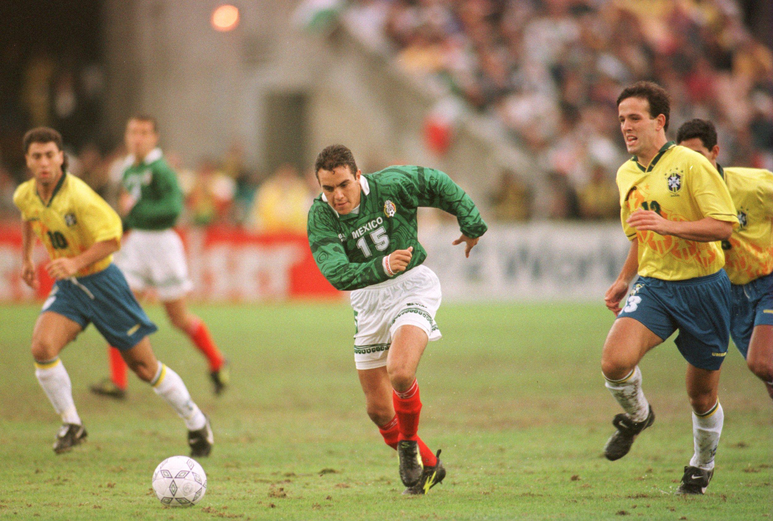 México v Brasil 1996