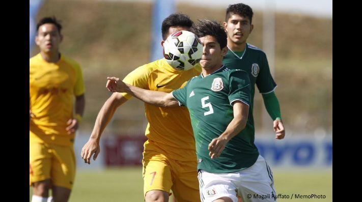 México jugara contra Inglaterra en la final de Toulon