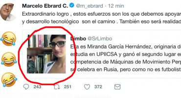 ¡JAJAJA! Marcelo Ebrard subió a Twitter una foto de Mia Khalifa y se lo comieron vivo