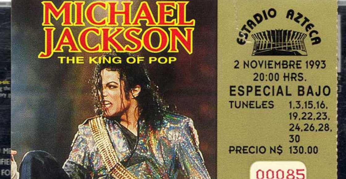 Recordemos la primera visita de Michael Jackson a México