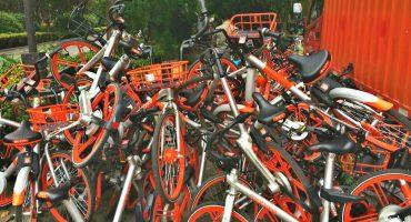 Le han robado más de 400 bicis al servicio de renta Mobike
