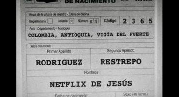 ¿Y si le ponemos Netflix al niño?  La plataforma entra en la lista de nombres para niños