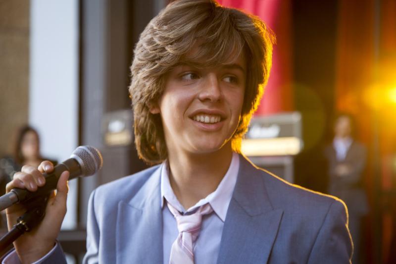 Él es el actor que dará vida a Luis Miguel adolescente en la serie de Netflix