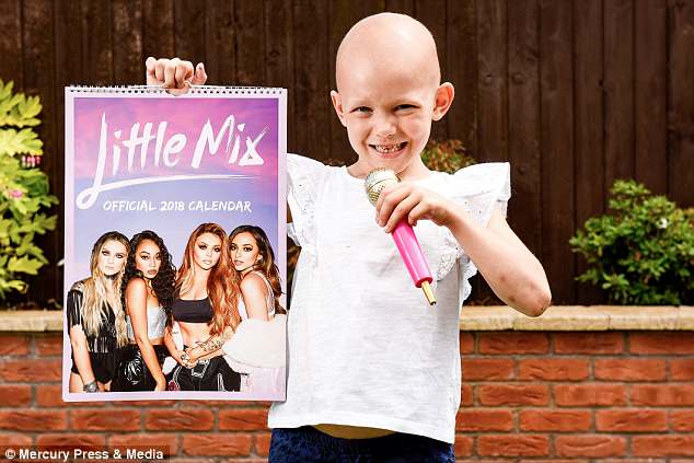 "Niña cantando ""Fight Song"" para combatir el cáncer"
