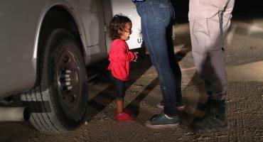 Trump o de la educación: Un niño migrante enseña a cambiar pañales a otros niños