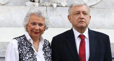 Olga Sánchez Cordero donará su pensión de 258 mil pesos; solo si gana AMLO