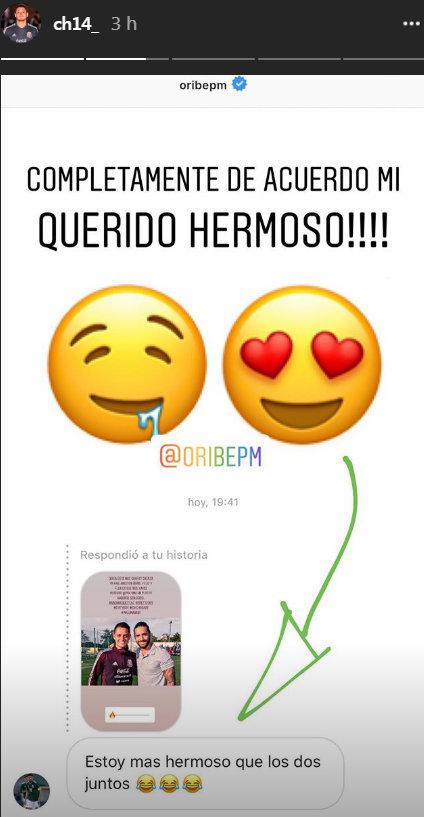 Oribe dice estar más guapo que Maluma y Chicharito