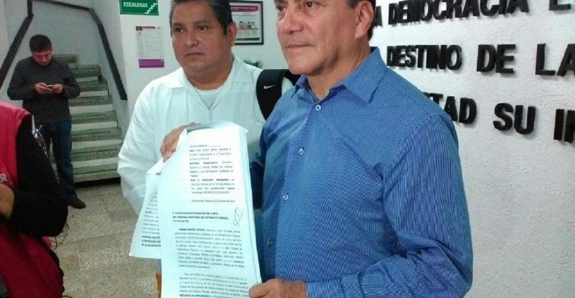Óscar Cantón, excandidato del PVEM a gobernador de Tabasco
