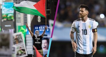 Palestina lanza amenaza en contra de Messi si juega con Argentina el amistoso contra Israel