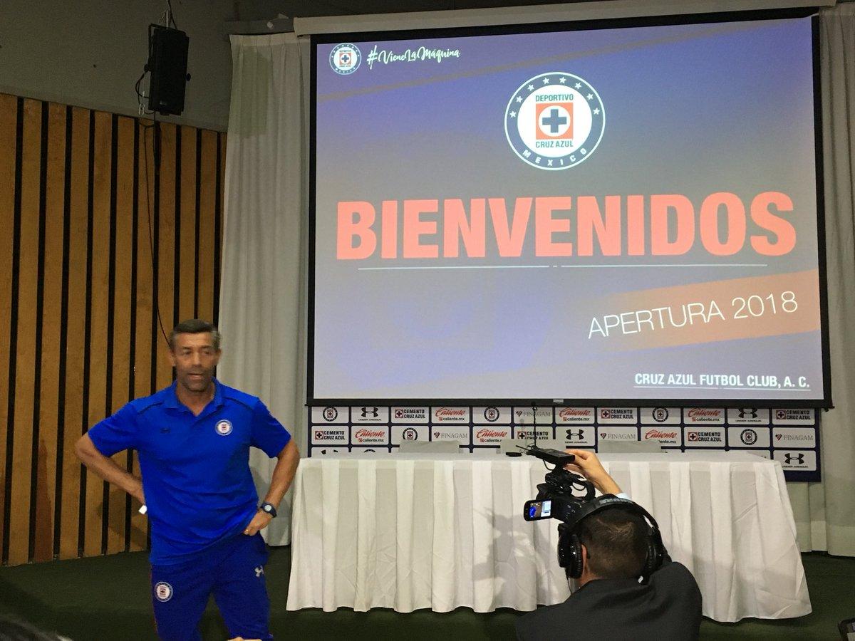 Pedro Caixinha habló sobre Cruz azul