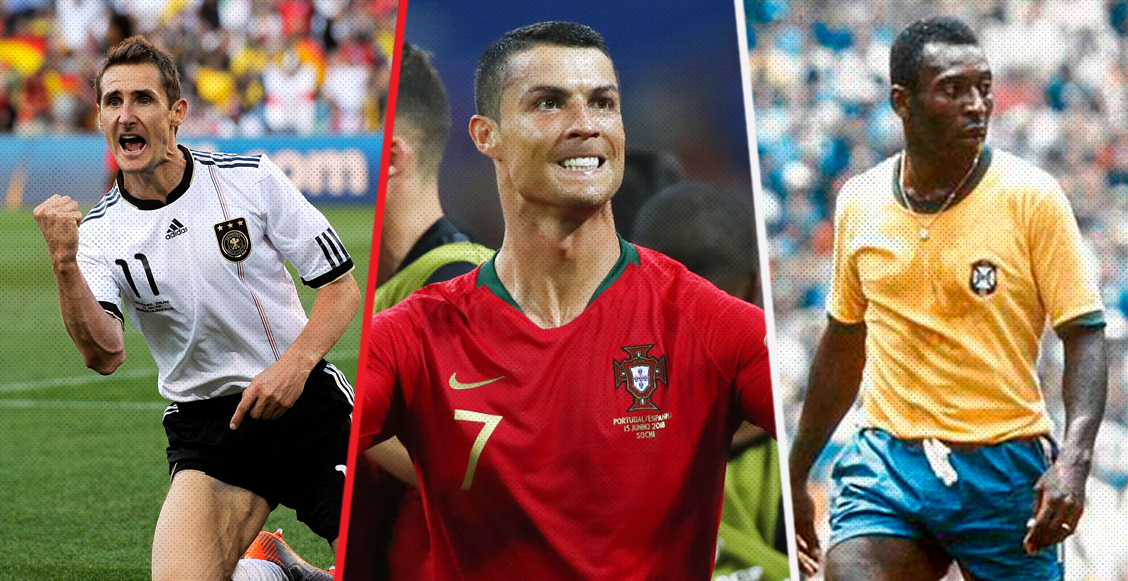 Cristiano Ronaldo iguala récord mundialista de Pelé, Klose y Seeler