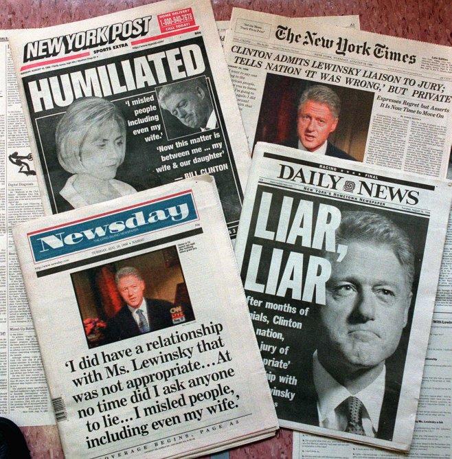 Bill Clinton finalmente explica por qué nunca se disculpó con Monica Lewinsky