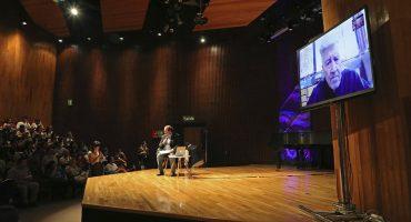 Así estuvo la plática de David Lynch en el Festival de Arte y Ciencia de la UNAM