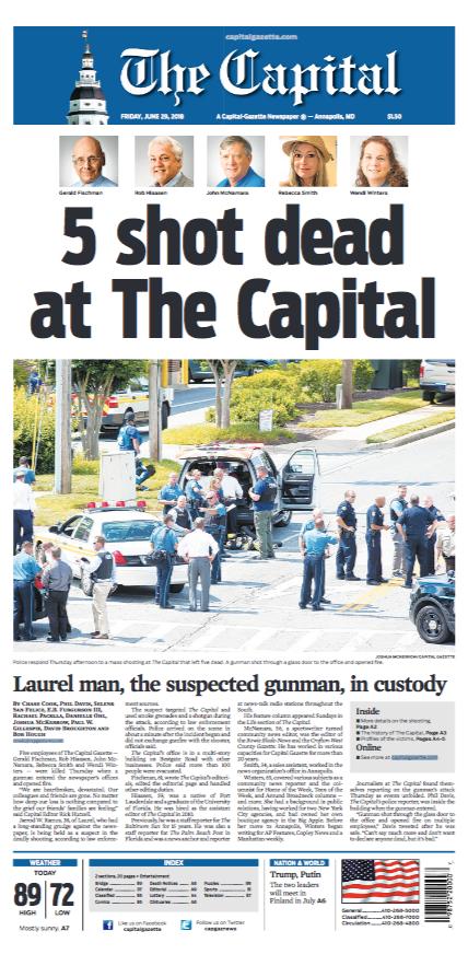 ¿Quién es el presunto responsable del tiroteo contra periodistas en Maryland?