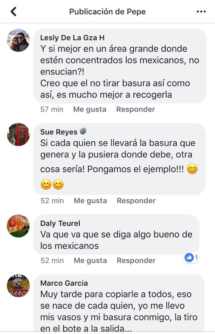 Aficionados mexicanos limpiarán el estadio