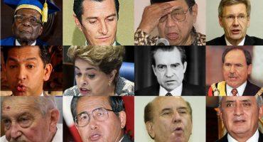 Rajoy no es el  único, 10 presidentes destituidos en el mundo por corrupción