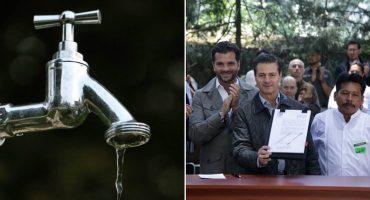 ¿De verdad privatizaron el agua mientras veíamos el futbol?