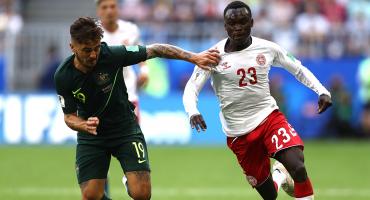 El VAR define el empate entre Dinamarca y Australia