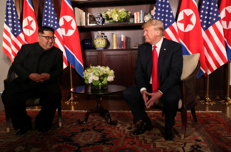 Reunión Kim Jong-un y Donald Trump