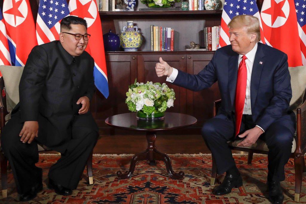 Cumbre Singapur, Trump-Kim Jong-un