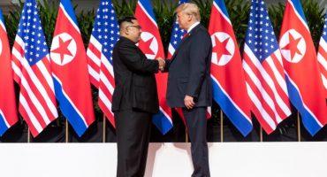 Trump y Kim Jong-un reafirman desnuclearización... pero seguirán sanciones contra Corea del Norte