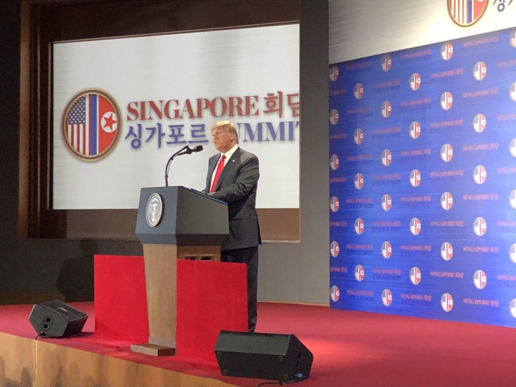 Conferencia Trump, cumbre de Singapur