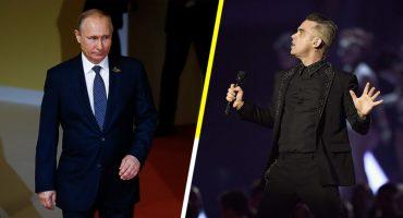 Y en la nota idiota del día: Robbie Williams vendió su alma a Putin para abrir el Mundial