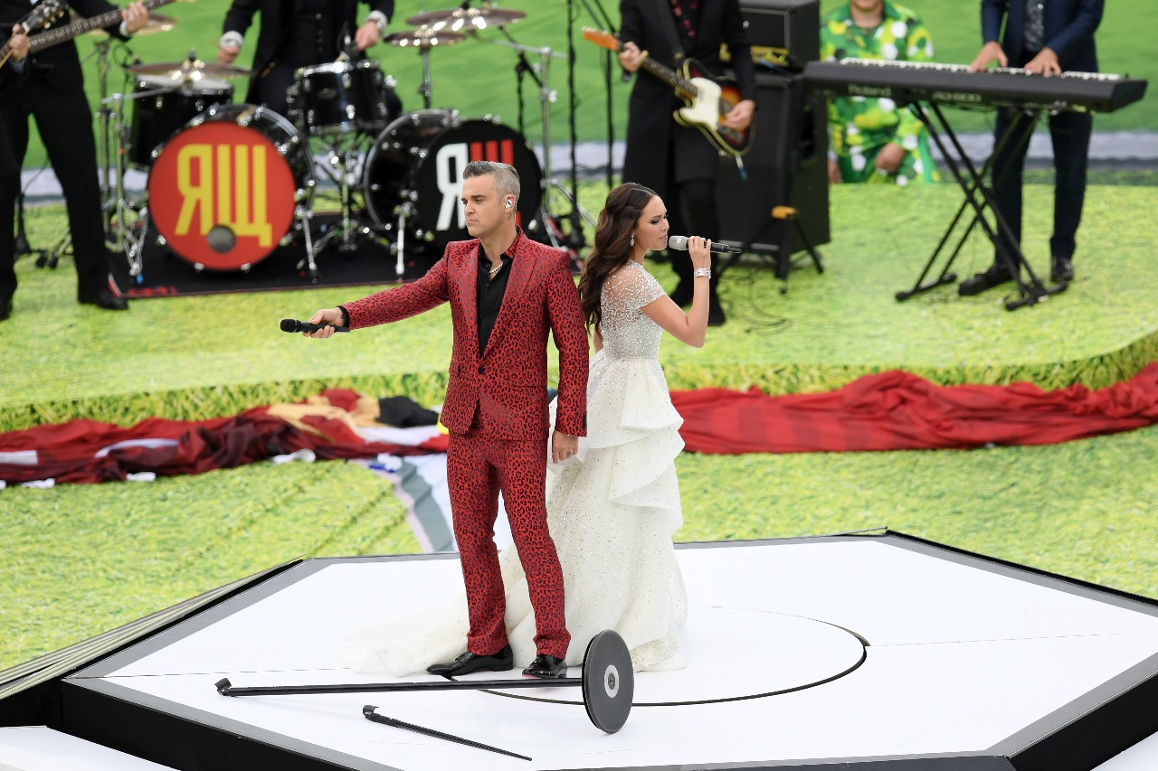 I don't wanna rock, DJ! Así estuvo el show de Robbie Williams en Rusia 2018