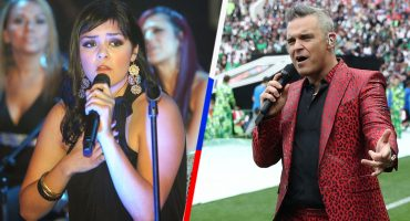 "¿Y Yuridia dónde está? Twitter asegura que Robbie Williams covereó ""Angels"" 😂"