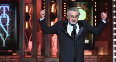 'Fuck Trump!': Robert De Niro recibe una ovación durante los Tony Awards