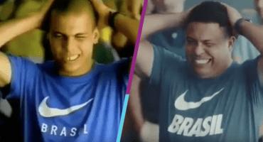 Ronaldo repite el comercial del aeropuerto 20 años después