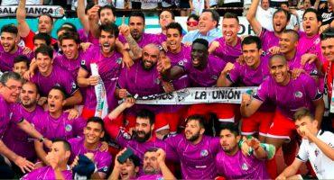 El equipo español Salmantino asciende a 2a división B con seis mexicanos