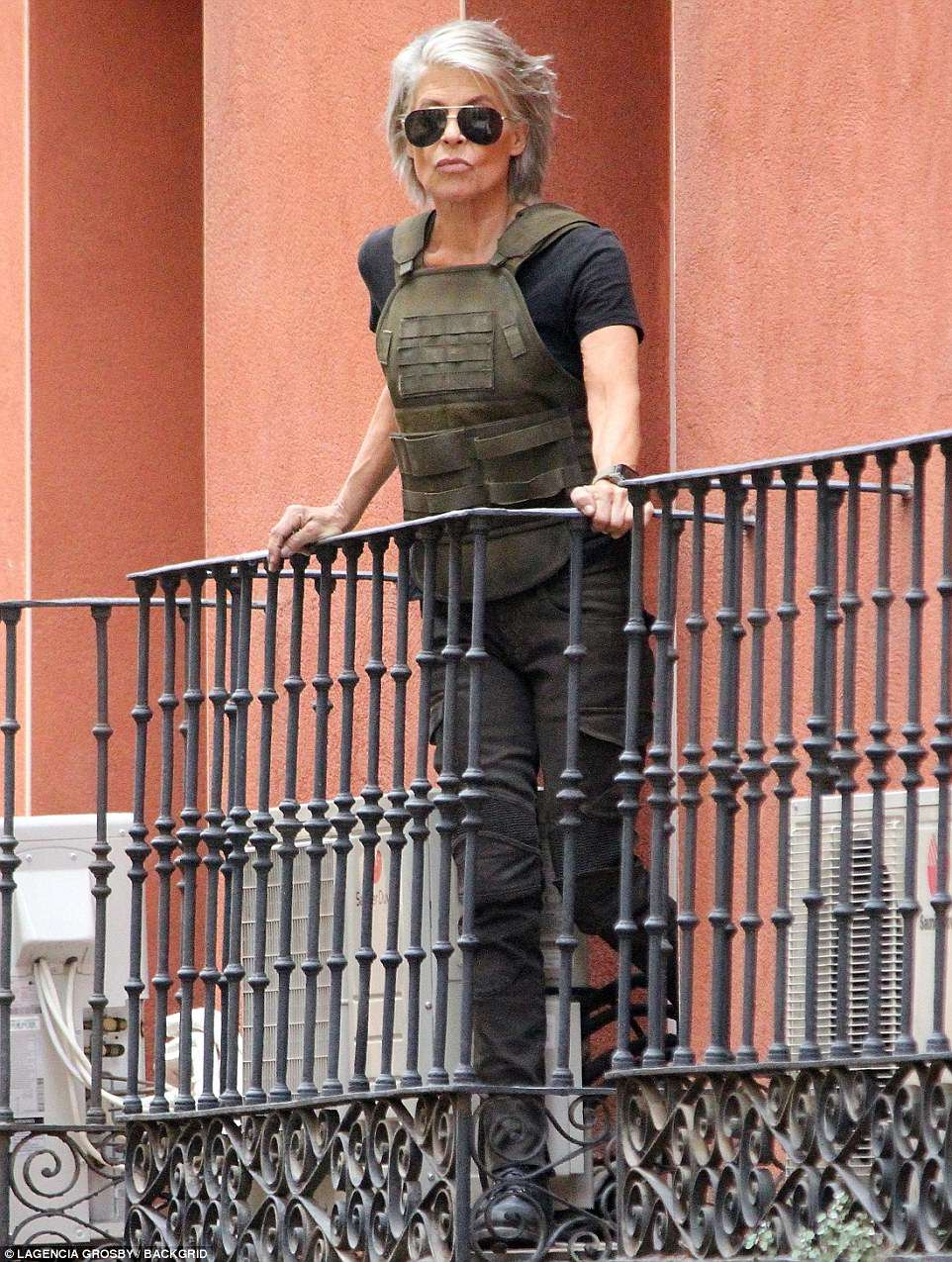 "Así se verá Linda Hamilton como ""Sarah Connor"" en 'Terminator 6' 😱"