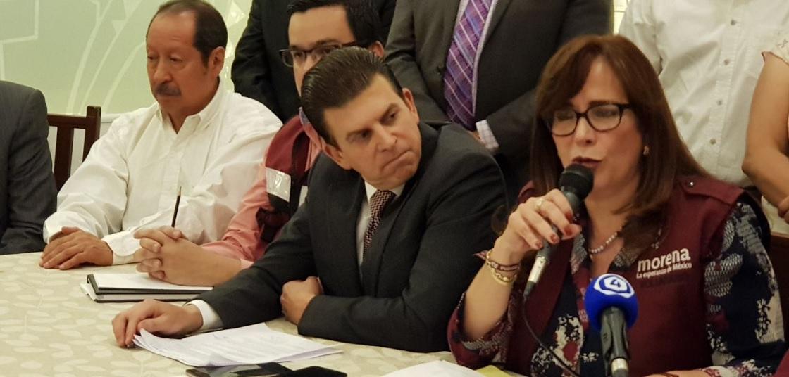 el candidato a gobernador de Guanajuato por Morena, Ricardo Sheffield
