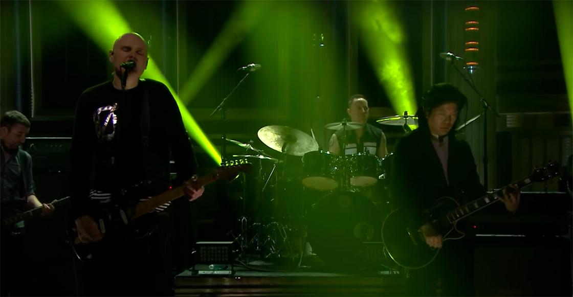 Smashing Pumpkins se presenta por primera vez en vivo desde su reunión