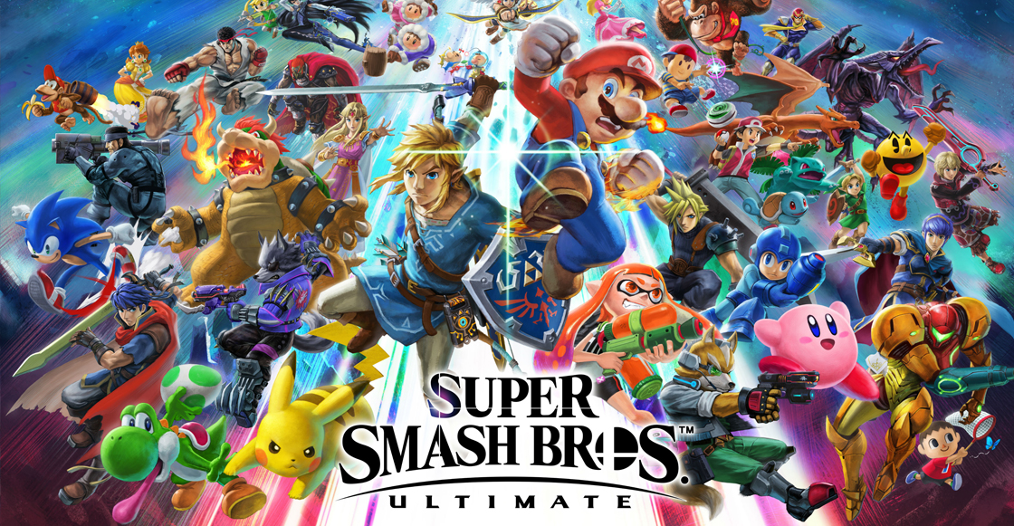 ¡Estos son todos personajes del Super Smash Bros Ultimate para Nintendo Switch!