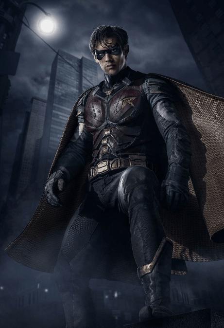 """Así es como lucirá """"Robin"""" en la nueva serie live action, Titans"""