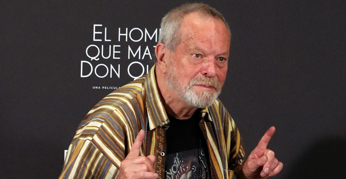 Tsss.... El legendario director Terry Gilliam dice que las películas de superhéroes