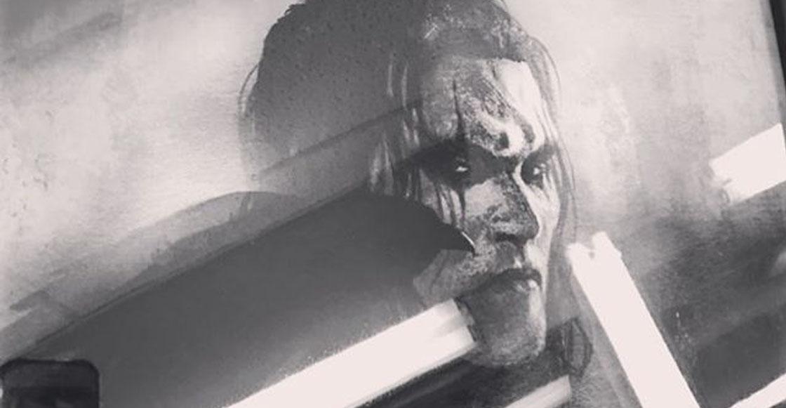 Así se hubiera visto Jason Momoa como 'The Crow' en el fallido reboot