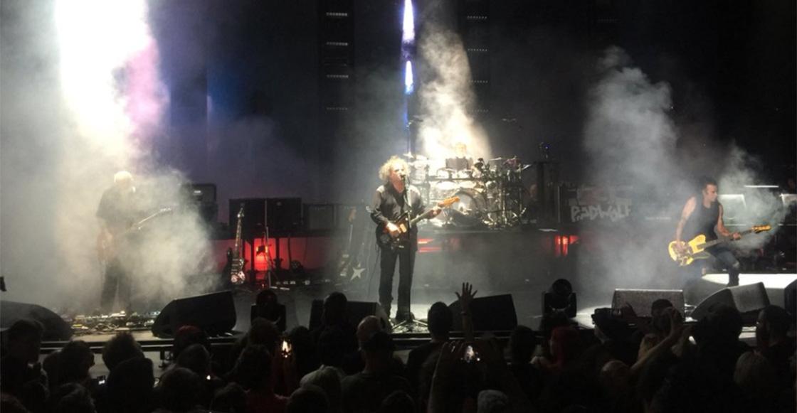 The Cure cerró el Meltdown 2018 con 28 canciones de cada uno de sus discos