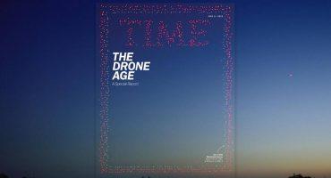 Wow! La nueva portada de TIME fue hecha con casi mil drones