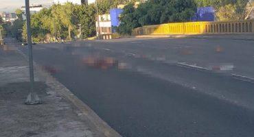 Junto a una narcomanta, encuentran cuerpos desmembrados en Tlatelolco