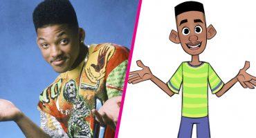 Así se verían los personajes del 'Príncipe del Rap' en versión animada