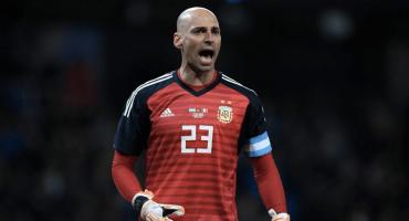 ¿Hay portero? 4 osazos de Willy Caballero, el portero de la Selección Argentina