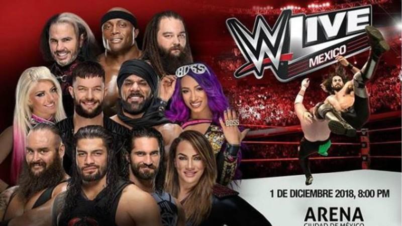 Ya están disponibles los boletos para la WWE en México