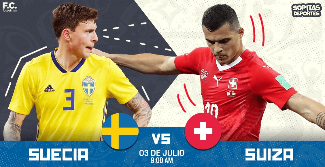 Suecia vs. Suiza: el VAR evitó penal de nórdicos en el final